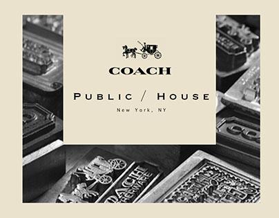 Coach Inc. Strategic Initiative: The Public House