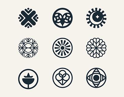Logofolio 2020 Vol 1 Circular Marks