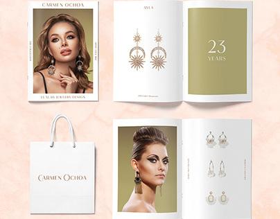 Carmen Ochoa Luxury Jewelry Branding