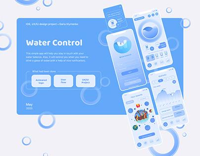 Water Control App