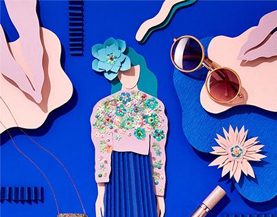 Fashion Papercut