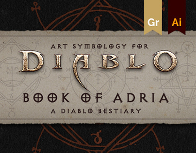 ART SYMBOLOGY FOR THE BOOK OF ADRIA