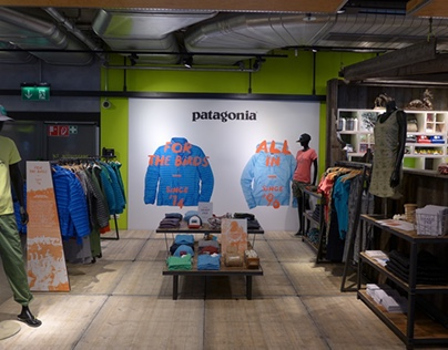Patagonia Visual Merchandising Sport Schuster Germany