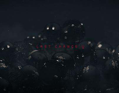 Last Chance U   Main Title Concept