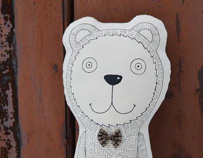Michael, cute bear from Masterskaya EN