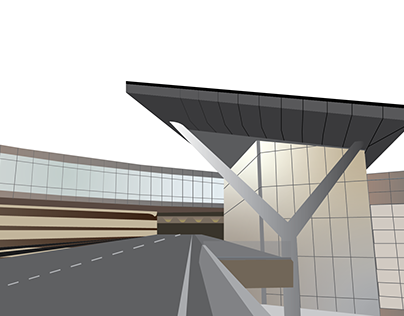 Airport Vector Illustrations