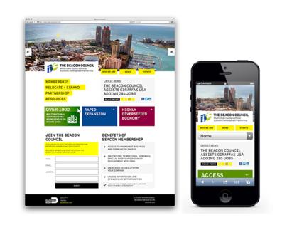 Responsive Web Design for Beacon Council