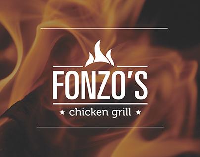 Fonzo's Chicken Grill Branding