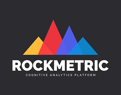 Logo Design For Analytics Platform - Rockmetric