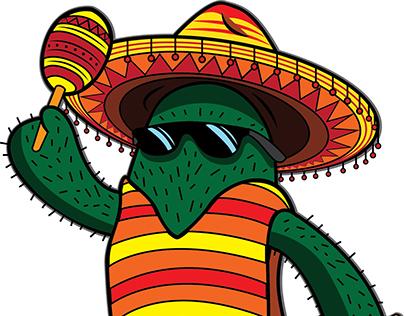 Cactus Graphic / Tattoo