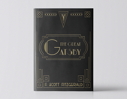Book Cover - The Great Gatsby