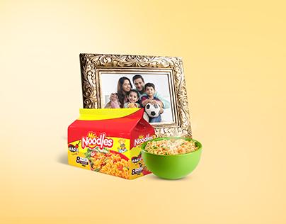Mr noodles print ad