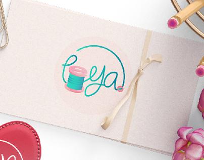 LEYA | fashion brand logo design