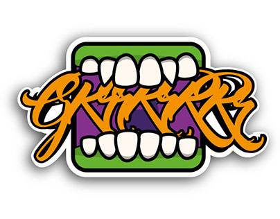 Growling Stickers