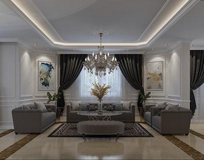 Luxury Reception & Dinning Room.