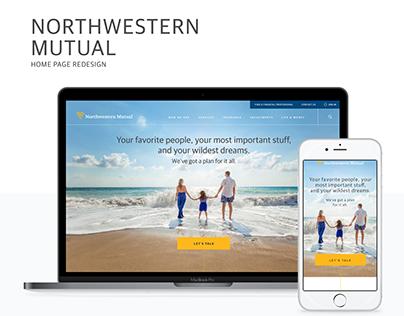 Northwestern Mutual Homepage Redesign
