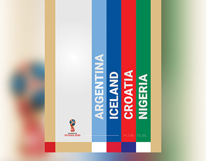 Posters - 2018 FIFA World Cup Russia (Group D)