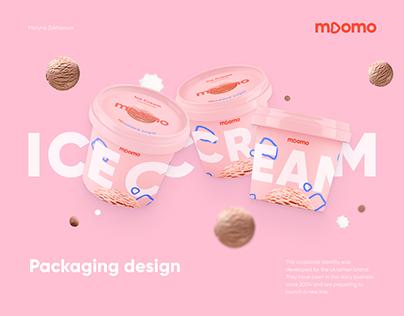 moomo | ice cream packaging design