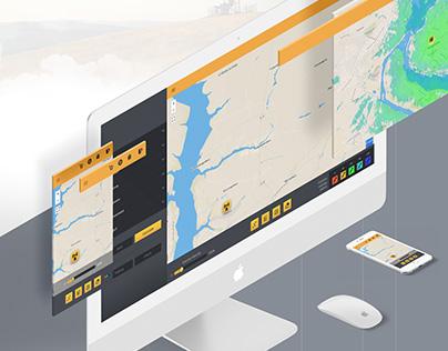 Radio Planning UI UX design