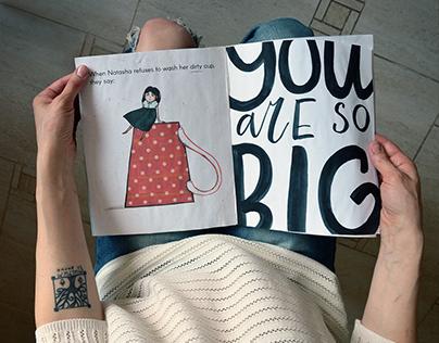 Author's book LITTLE BIG NATASHA