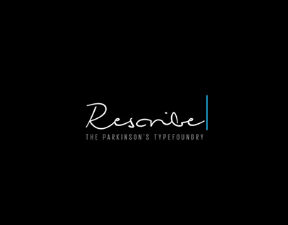 Rescribe: The Parkinson's Typefoundry