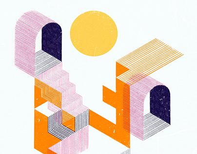 Isometric illustrations 2020