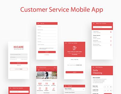 Customer Service Mobile App