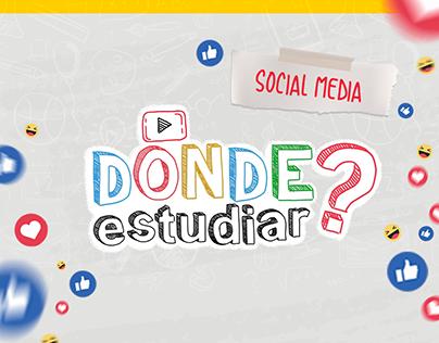 Donde Estudiar? | Social Media 2