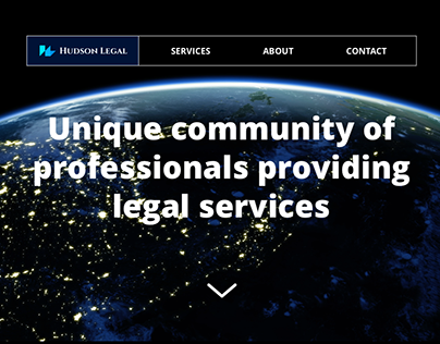 Responsive Web Design for Hudson Legal