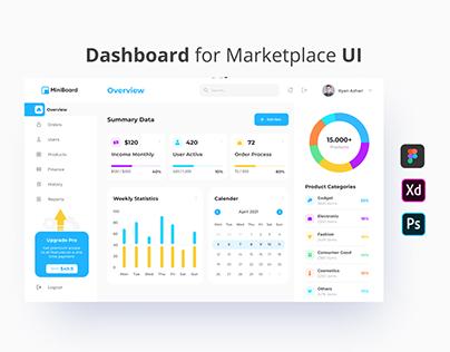 Miniboard - Marketplace Dashboard