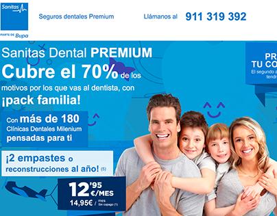 Landing page - Sanitas Dental PREMIUM