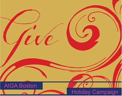 AIGA Boston   Event Campaign