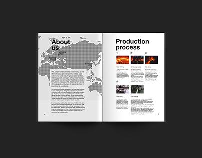 Brochure for VOL-Stahl