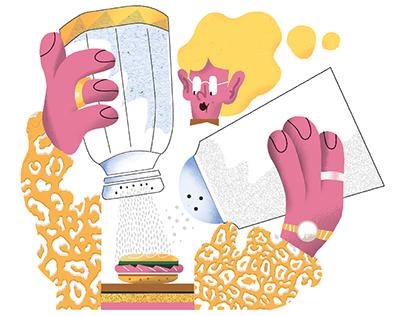 Editorial illustrations 2018