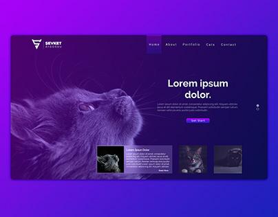 Cats Web Design