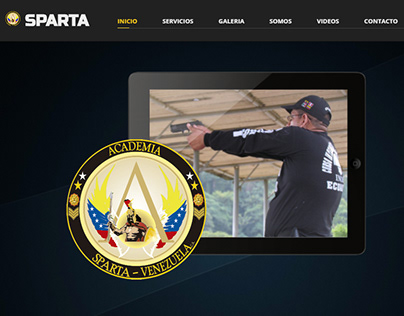 Pagina Web para Academia Sparta Internacional