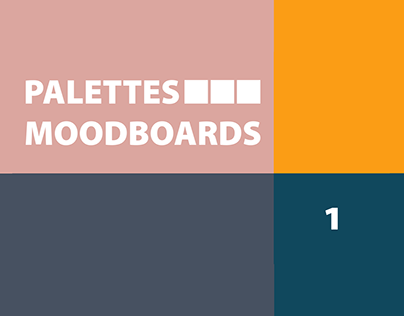 Color Palettes for Moodboards