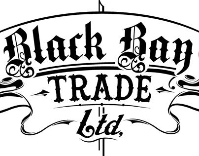 Logo Design for BlackBay Trade ltd. and stickers.