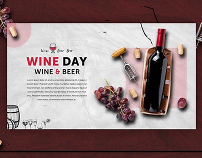 Wine Banner Design