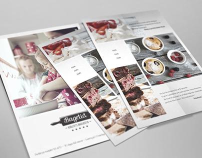 Flyer - Baking company