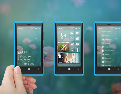 WP 8 Redesign Mockup