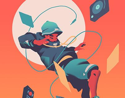 Cyberfunk Illustrations