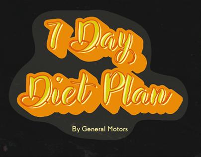 Diet Plan Book
