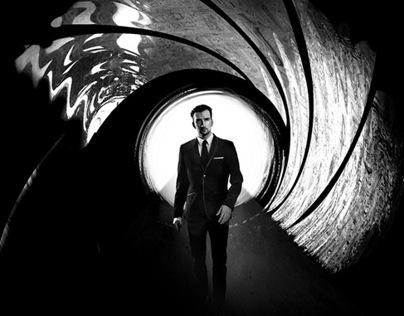 Photoshop Tutorial: James Bond Movie Poster