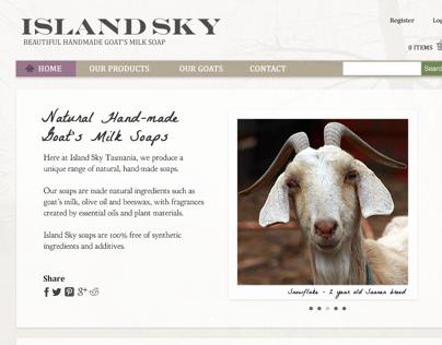 Island Sky - Website Redesign