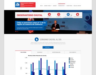 Observatorio Digital - Gobierno de Chile