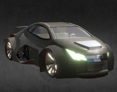 Mid-engine Car
