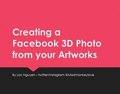 Creating Facebook 3D Photos