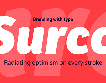 Bw Surco — Free font demo