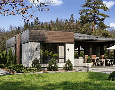 Modern Prairier House
